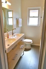55 inch double sink vanity bathroom contemporary with bathroom hardware bathroom mirror image by narita architects