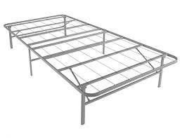Twin platform bed frame Twin Xl Bedframescom Twin Xl Metal Platform Bed Base Bed Base For College