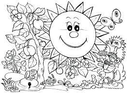 Spring Coloring Pages Printable Crayola Free Printable Spring