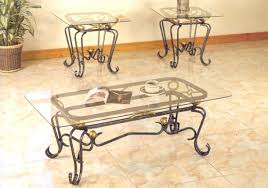 wrought iron and glass coffee table spacious wrought iron coffee table with glass top coffee tables