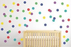 polka dot wall decal sticker pattern