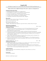 5 Paralegal Resume Objective Authorize Letter