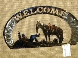 western metal wall art outlaws metal art cowboy and horse metal art horses kissing wall art on cowboy metal wall art with western metal wall art easykart fo