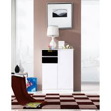 shoe rack furniture. New Modern 2 Door White MDF Stylish Shoe Cabinet Quality Furniture Rack