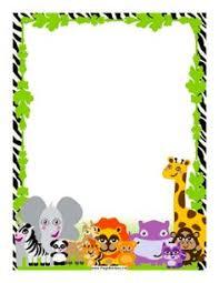 baby animal clipart borders. Modren Animal Animals Throughout Baby Animal Clipart Borders M