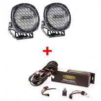illuminator led driving light wiring harness to fit and  illuminator 7 round led driving lights pair led driving light wiring harness