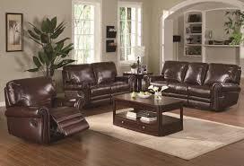 furniture captivating reclining sofa sets for living room design