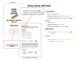 Apa Citation Eng 3212 Language Acquisition Guides At California