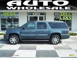 2007 GMC Yukon XL Denali AWD in Blue-Green Crystal - 190694 | All ...