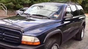 2001 Dodge Durango Sport Blue 4X4 for sale - YouTube