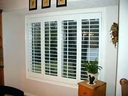 interior plantation shutters for sliding glass doors home depot blinds