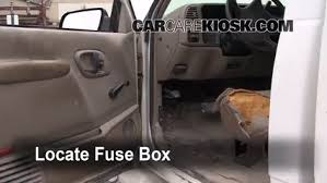 interior fuse box location gmc c gmc c interior fuse box location 1990 2000 gmc c3500 2000 gmc c3500 sierra sl 7 4l v8 extended cab pickup 2 door