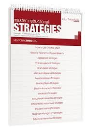 Master Instructional Strategies Flip Chart Intervention