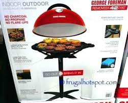 george foreman indoor outdoor ceramic grill reviews system evolve 2 next 5