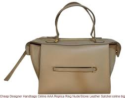 designer handbags céline aaa replica ring stone leather satchel celine big bag