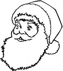 Small Picture Santa Claus Face Coloring Pages aecostnet aecostnet