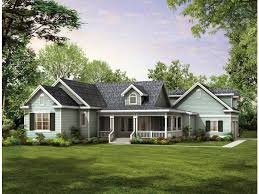 One Story House Plans With Garage U0026 One Level Homes With Garage One Story House