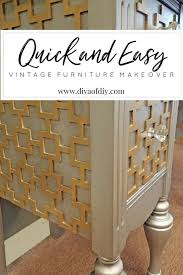 diy vintage furniture. Plain Vintage Quick And Easy Vintage Furniture Makeover To Diy Vintage Furniture H