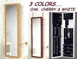 wall mounted mirror jewellery cabinet wall mounted jewelry cabinet with mirror wall jewelry box over the