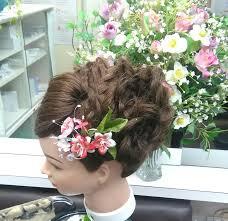成人式振袖に合う髪型をイメージして 尼崎武庫之荘駅近lemon
