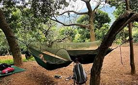 outdoor camping.  Outdoor OutdoorCampingHammockBukmMosquitoHammockTravelBed Inside Outdoor Camping