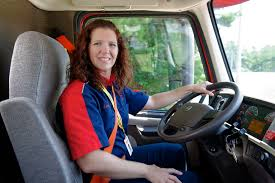 saia driver leah evans discusses her life as a female truck driver fleet owner