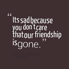 Sad Quotes About Friendship 100 Sad Friendship Quotes Images Sayings About Broken Friendship 3