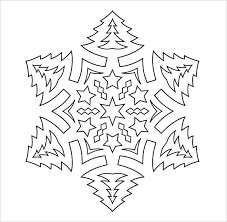 Snowflake Patterns Classy Free Printable Snowflake Patterns Format Template Cut Out