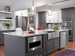 Amazoncom 10 X 10 Liberty Shaker Gray Kitchen Cabinets Kitchen