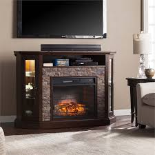 Tennyson Ivory Electric Fireplace With Bookcases Southern Southern Enterprises Fireplace