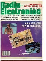 radio electronics magazine 12 1981 television