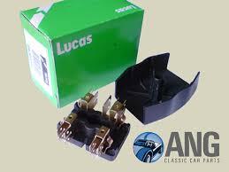 lucas fuse box lid type 7fj mgb mgb gt 62 69 ang close up lucas fuse box