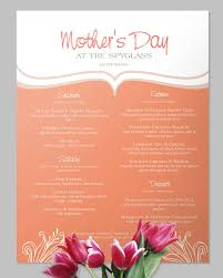 Mother S Day Menu Template Peaches Cream Mothers Day Menu Mothersday Menu Brunch