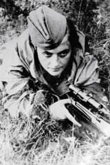 Lady Death': The World War II female sniper who reportedly killed more than  300 Nazis