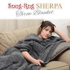 Snug Rug Throw Blanket