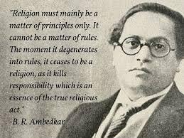 Religion Quotes Impressive Ambedkar Quotes Ambedkar On Religion Religion And Its Meaning
