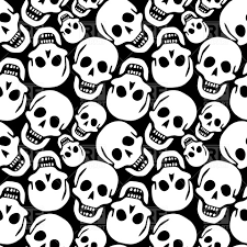 Skull Pattern Magnificent Skull Pattern Vector Image Vector Artwork Of Backgrounds Textures