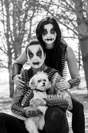 black metal face makeup tony perry erin aschow doug the dog cavachon