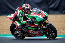 MotoGP Le Mans Sam Lowes vola con l'Aprilia sul bagnato - Corsedimoto