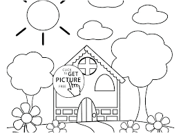 Spring Coloring Page Free Printable Spring Coloring Pages For Spring