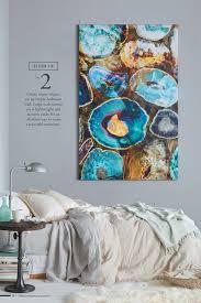 create major impact on an empty bedroom wall