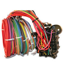 universal car wiring harness solidfonts painless performance 21 circuit mopar color coded universal wiring