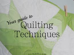 The 4 Basic Types of Quilting: A Guide | Rachel Rossi & This guide shows you all the different types of quilting techniques and how  to get started Adamdwight.com