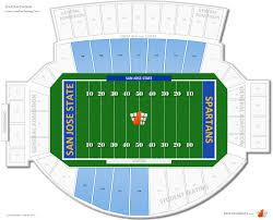 Organized Sjsu Spartan Stadium Seating Chart San Jose State