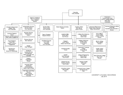 Organizational Chart Office Of The Chancellor University