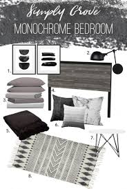 Bedroom Mood Board Monochrome Bedroom Design That Will Really Inspire You