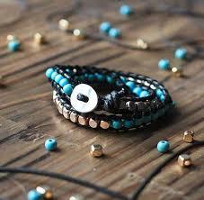 diy beaded charm bracelet tutorials