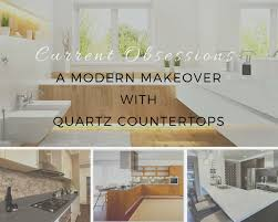 trending now for kitchen and bathroom décor are quartz countertops unlike granite and marble which is mined from nature quartz is an engineered stone