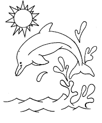 Disegni Da Colorare Per Bambini Delfini Mamme Magazine