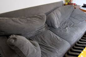 how to fix a sagging couch re cushions on sofa